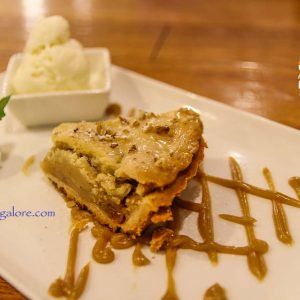 Apple Cinnamon Pie - Diesel Cafe - Hotel Prestige, Balmatta, Mangalore