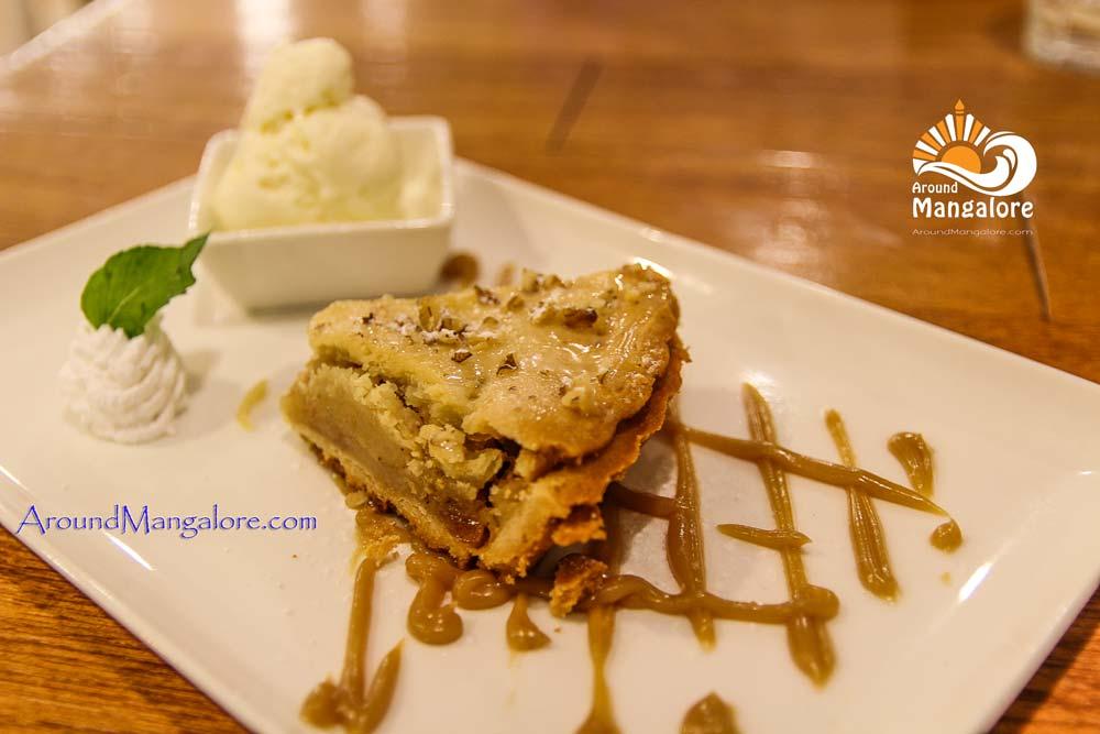 Apple Cinnamon Pie - Diesel Cafe - Hotel Prestige, Balmatta, Mangalore