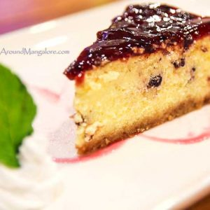 Blueberry Cheese Cake - Desserts - Diesel Café, Mangalore