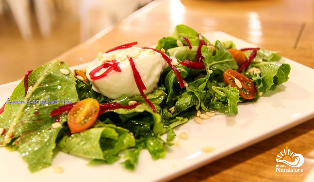 Burrata Salad - Diesel Cafe - Hotel Prestige, Balmatta, Mangalore