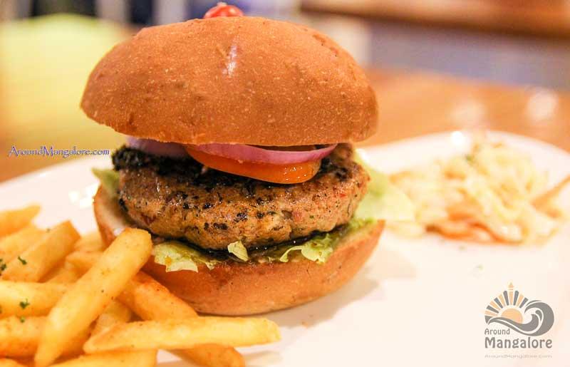 Chimi Churri - Burger - Diesel Café, Mangalore
