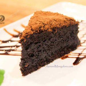 Chocolate Mud Cake - Desserts - Diesel Café, Mangalore