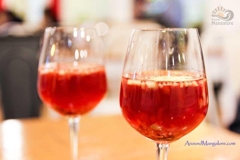 Red Wine Sangria – Cocktails - Diesel Café, Mangalore