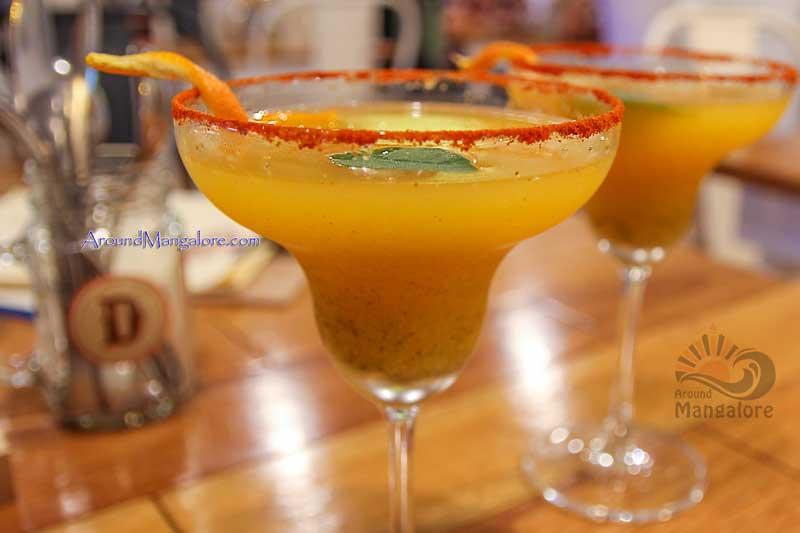 Spiced Orangetini - Cocktails - Diesel Café, Mangalore