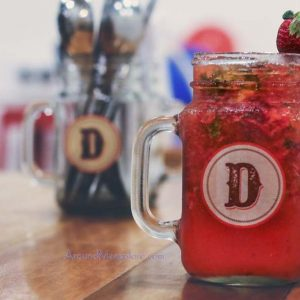 Strawberry Mojito - Diesel Cafe, Mangalore