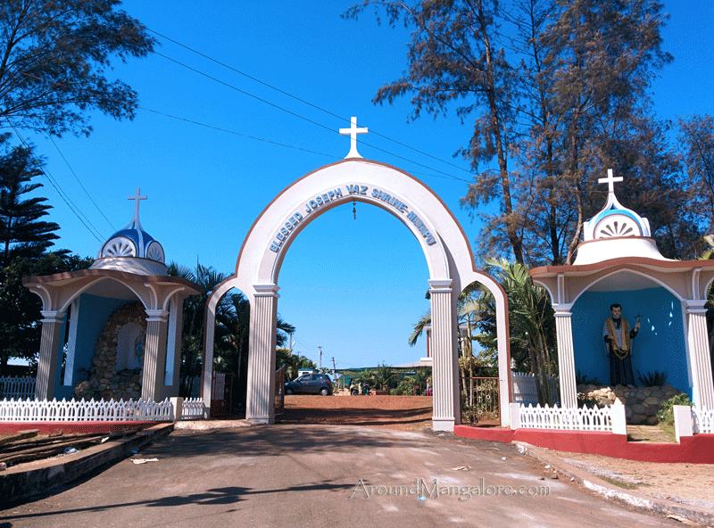 Blessed Joseph Vaz Church (Shrine), Mudipu, Mangaluru/Mangalore