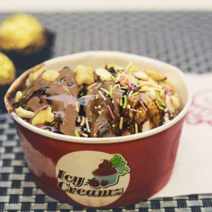 Chocolate and Nutty Butterscotch - Hangyo Ice Cream, Mangalore