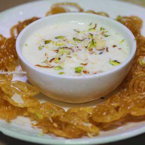 Jalebi Rabri - Crispy Jalebi - - Punjab Da Pind, Mangalore