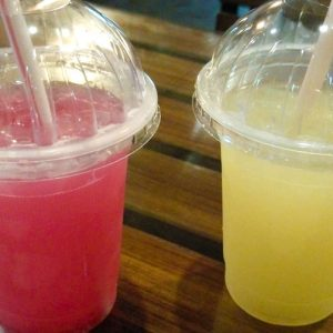 Strawberry Lemonade & Ginger Ale - Knock Knock - Burger Bistro, Mangalore