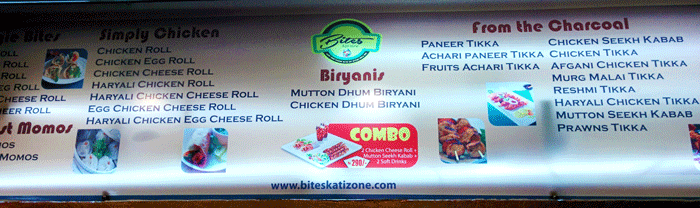 Bites Kati Zone, Mangalore