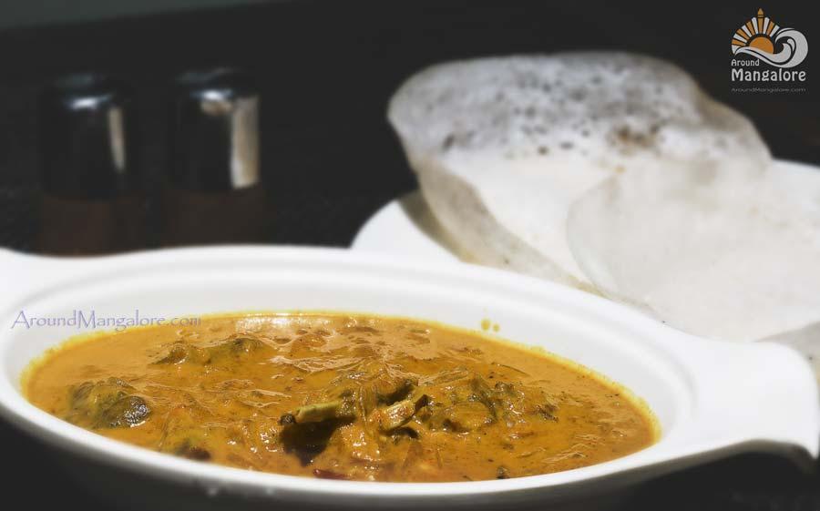 Kuttanadu Mappas Aadu (Mutton) with Aapam - Simbly South, Hotel Prestige, Mangalore