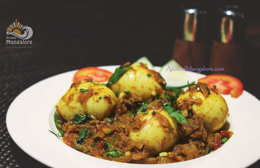 Kuttanadu Mutta (Egg) Roast - Simbly South, Hotel Prestige, Mangalore