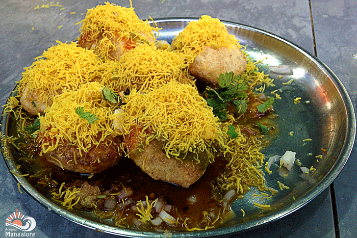 Sev puri - Juice Junction, Mangalore