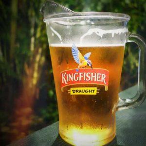 Kingfisher Draught - Village Restaurant, Mangalore