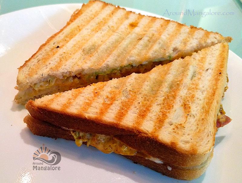 Chilli Cheese Toast - No 45 Cafe - # 45 - Attavar, Mangalore