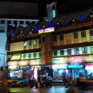 Surabhi Rooftop Garden Restaurant, Hotel Surabhi, Mangalore