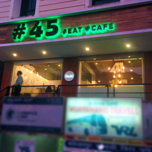 No 45 Cafe, Mangalore