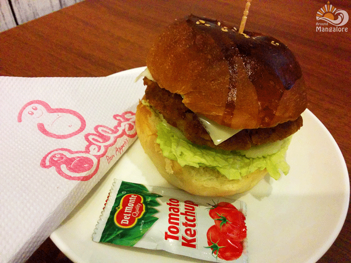 Burger - Belly's - Bon Appetit, Mangalore