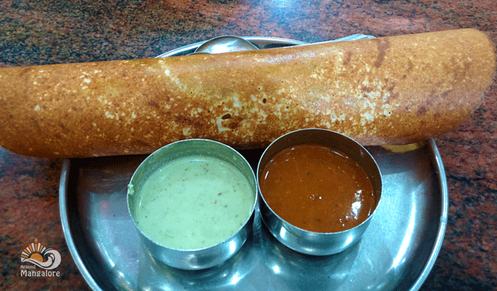 Masala Dosa - Hotel Janatha Deluxe, Ballalbagh, Mangalore