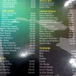 AC Menu - Hotel Janatha Deluxe, Ballalbagh, Mangalore