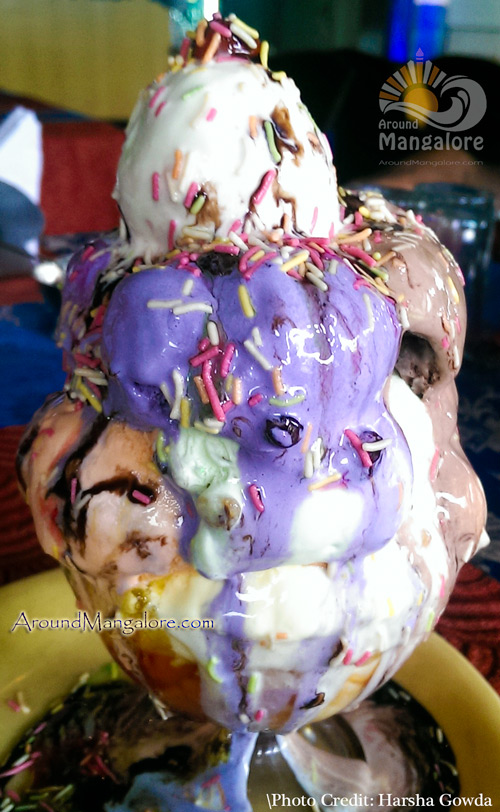 Double Sundae - Ice Cream - Maharaja Restaurant - Near Jyothi Circle, Mangalore