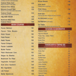 Menu - Shree Rathnam Restaurant, Mangalore