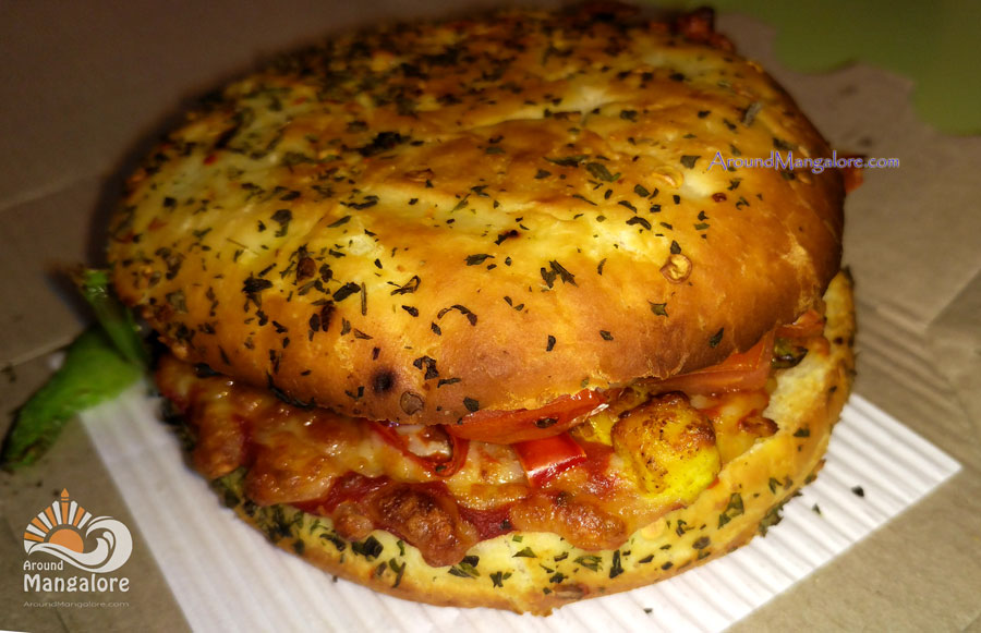Burger Pizza - Dominos Pizza, Mangalore