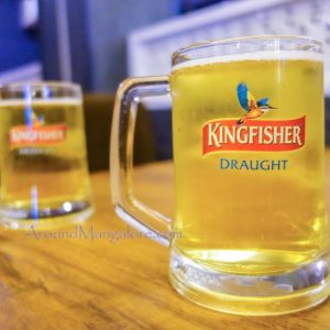 Kingfisher Draught - - Mangala Restaurant, Mangalore