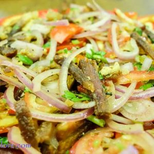 Pork Salad - Mangala Restaurant, Valencia, Mangalore