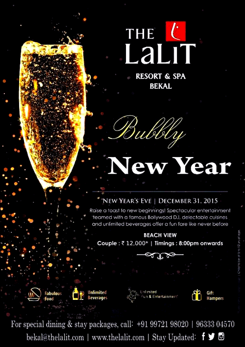 Bubbly New Year - The Lalit Resort