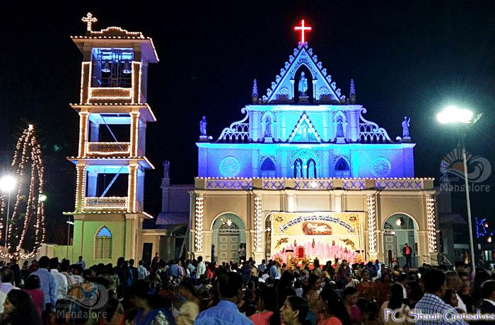 Christmas Mass Celebration - St. Sebastian Church, Bendur - Christmas 2015