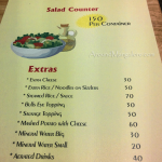 Food Menu - Kyle's, Mangalore - A Sizzler and Chinese Cuisine