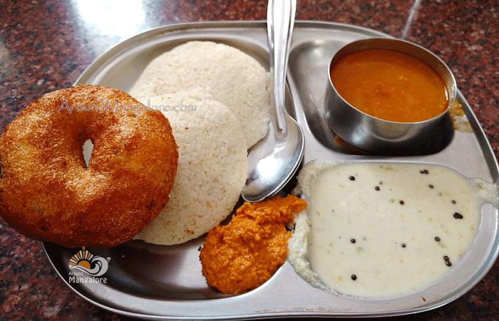 Idli Vada - Hotel Utsava Fine Dining Restaurant, Mangalore