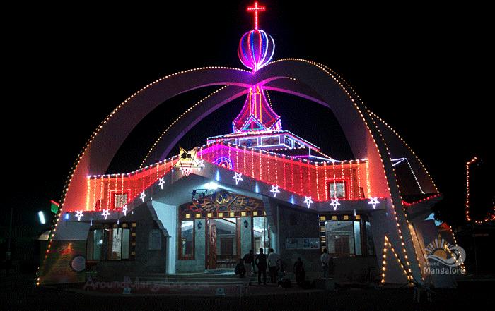Infant Jesus Shrine - Bikarnakatte, Mangalore - Christmas 2015