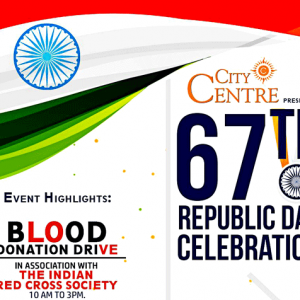 67th Republic Day Celebration - City Centre, Mangalore - Jan 26, 2016