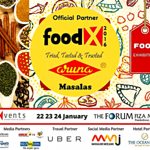 Food Festival - Food X 2016 - The Forum Fiza Mall - 22 to 24 Jan 2016