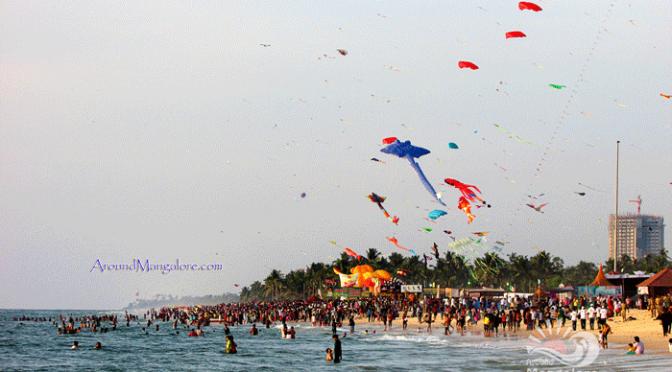 Kite Festival 2016 - Panambur Beach, Mangalore - 16 & 17 Jan 2016