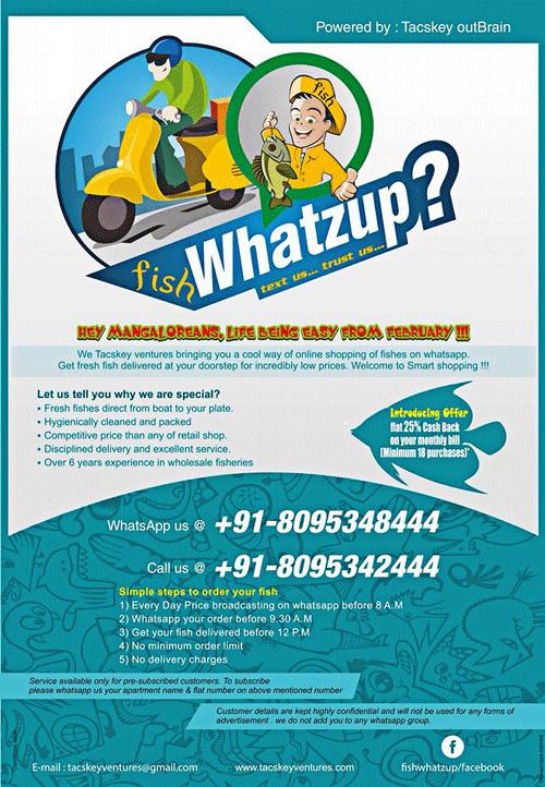 Fish Whatzup, Mangalore