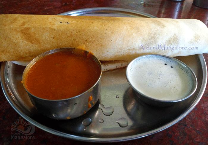 Masala Dosa - Hotel Karthik, Mangalore