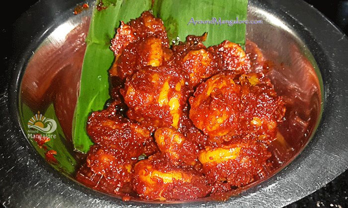 Prawns Fry - Hotal Meenu - Oota Da Mane, Mangalore - The Ultimate Sea Food Destination