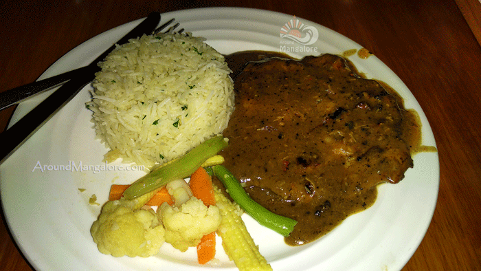 Chicken Steak - Pulse Cafe, Mangalore