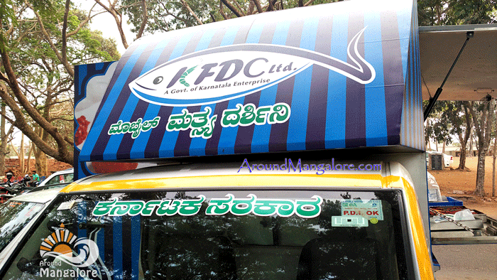 KDFC Stall -KFDC Stall - KFDC Ltd (The Karnataka Fisheries Development Corporation Ltd), Mangalore