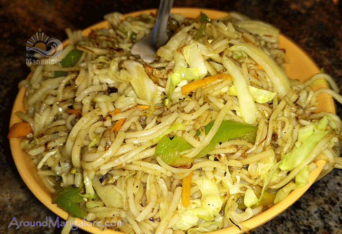 Veg Noodles - SPICE World - Fast Food & Family Restaurant, Mangalore
