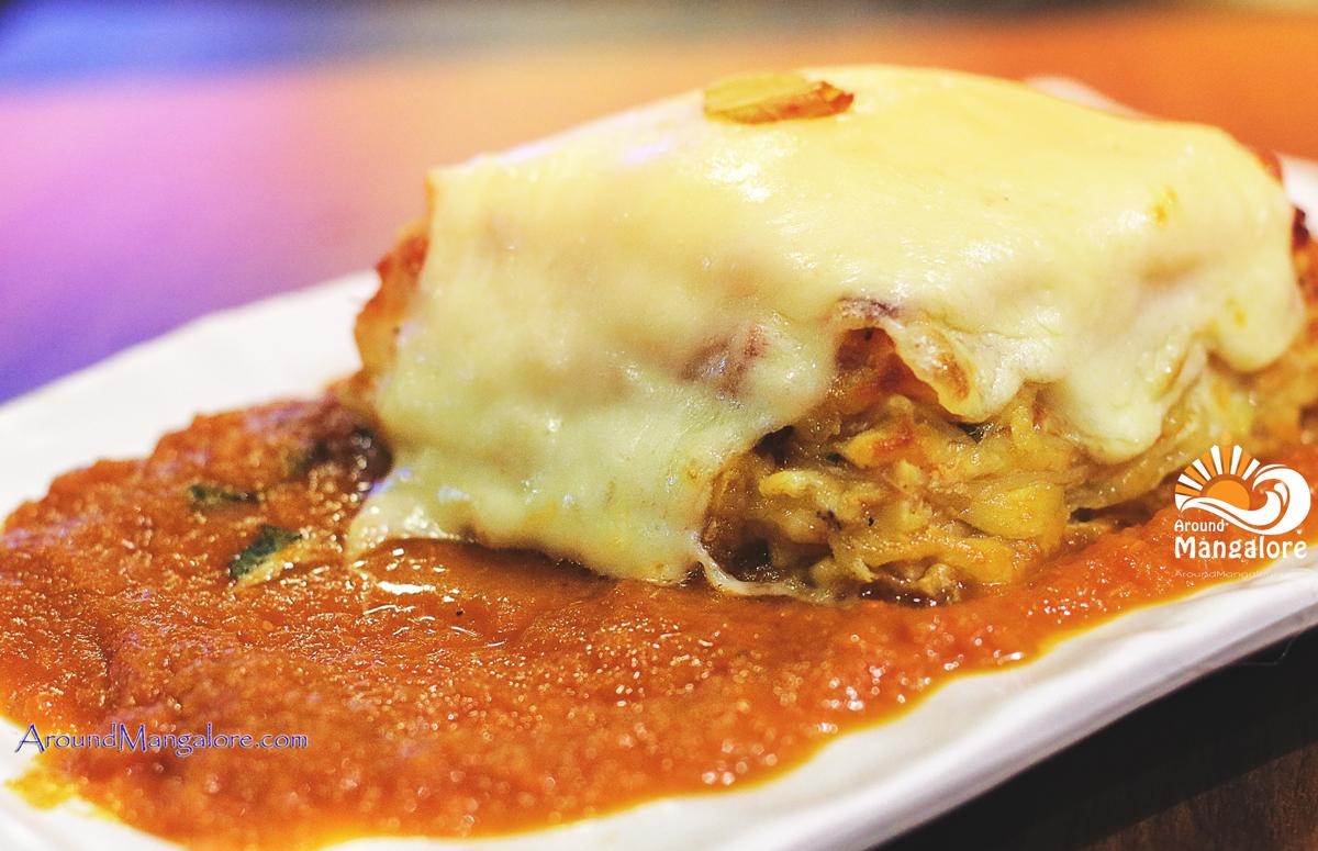Lasagne alla Naapoletana - Scirocco – The Pizzeria – Italian Restaurant - Mangalore