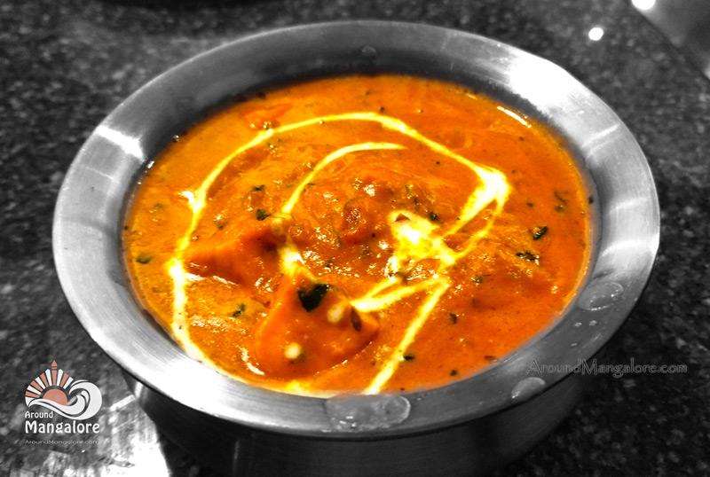 Paneer Butter Masala - Palm Grove Restaurant - Hotel BMS, Ballal Group, Kuntikana, Mangalore
