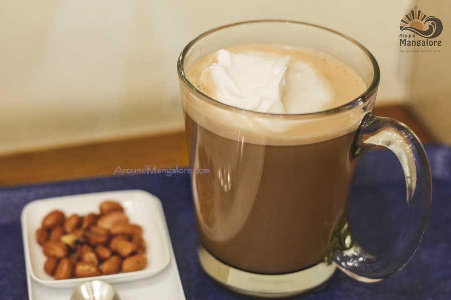 Hot Nutella Chocolate - Tokimeki Cafe - Japanese Cafe, Mangalore