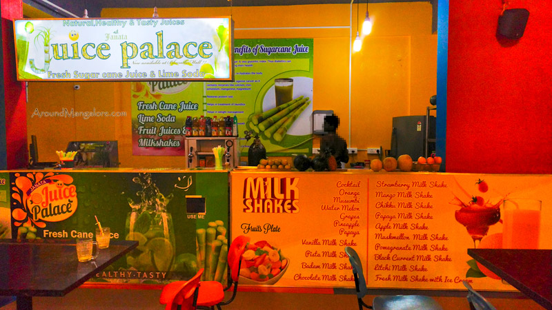 Juice Palace - Fresh Sugar-cane Juice - Bharath Mall, Bejai, Mangalore