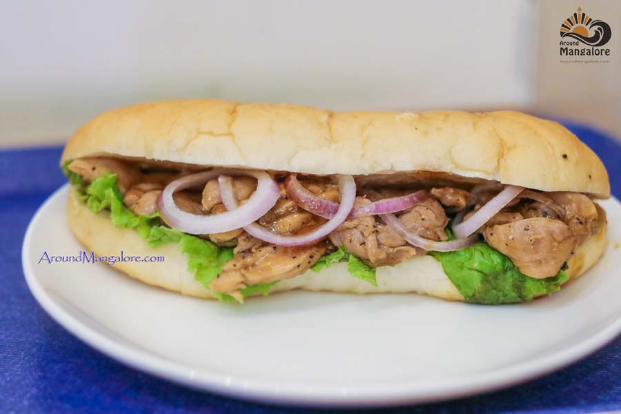 Teriyaki Sandwich - Japanese Cafe – Tokimeki, Mangalore
