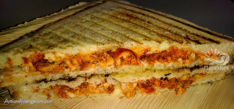 Chicken Sandwich - Yen Cafe - Light House Hill Road, Mangalore