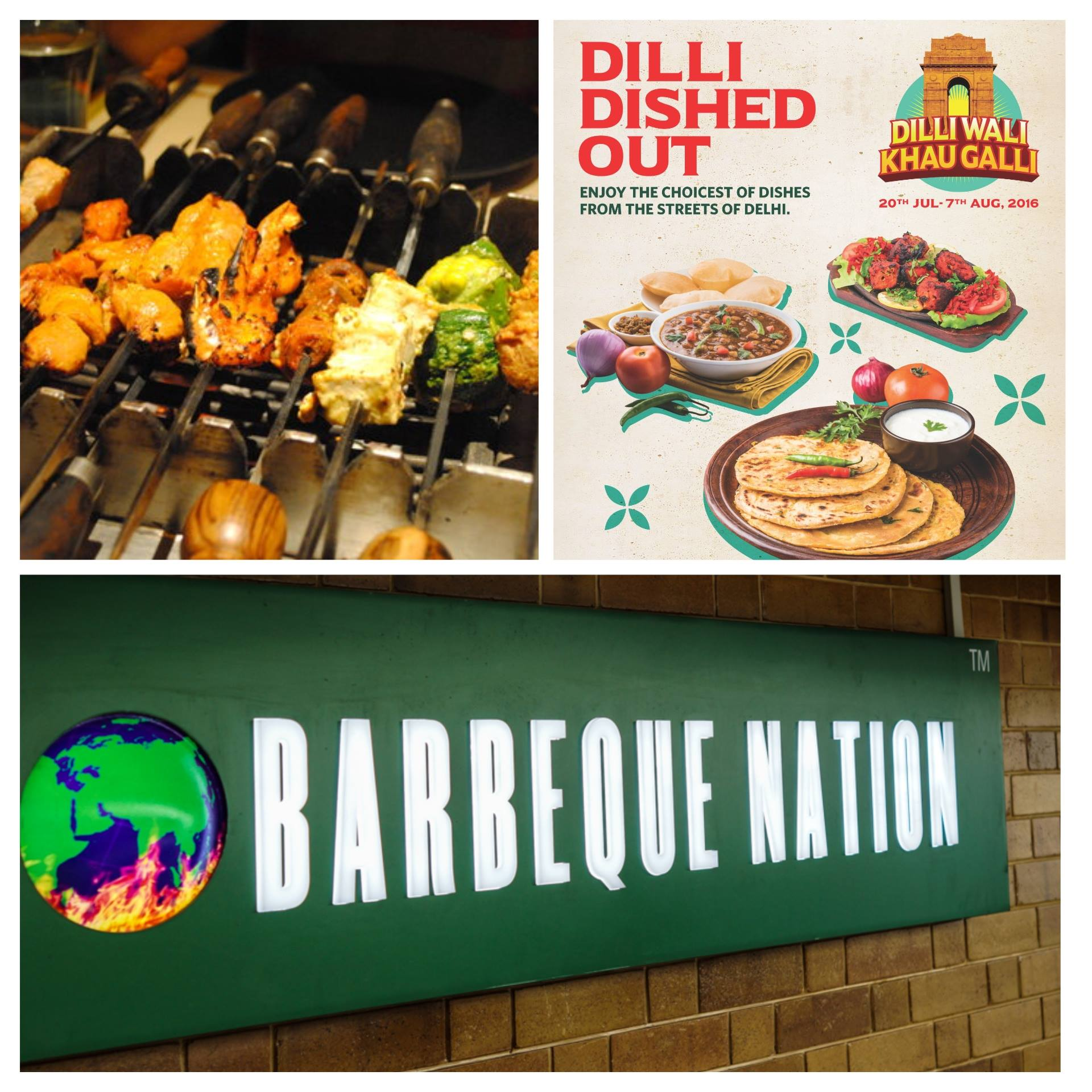 Dilli Dished Out - Barbeque Nation, Mangalore - Aug 2016
